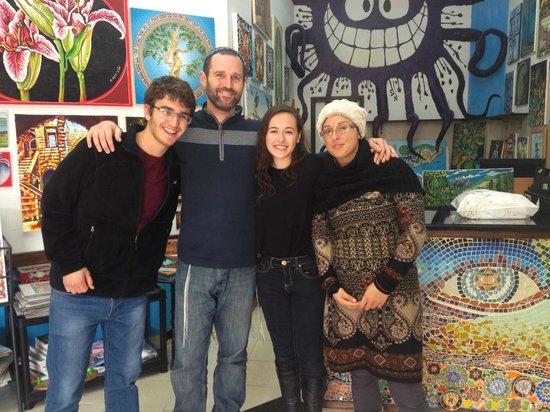 Yom Tov Art Gallery: Happy Family!