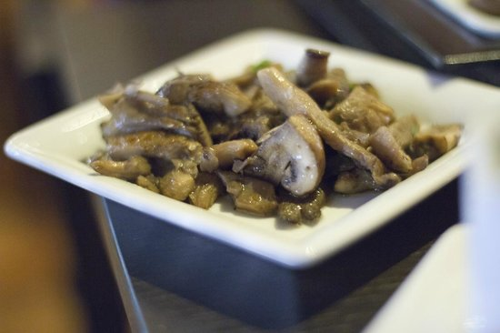 Midtown Grill Berlin: sautéed mushroom medley