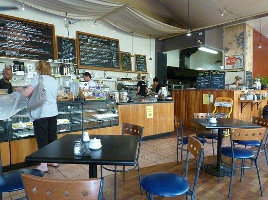 Devonport Stone Oven Bakery & Cafe: Inside Cafe