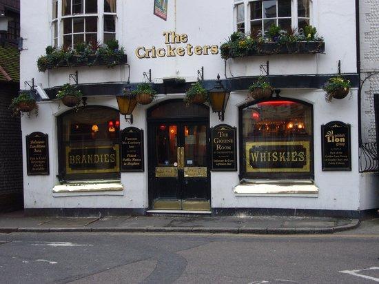 The Lanes : The Cricketers, Iris Inn, Lanes Brighton