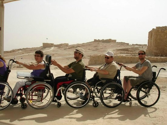Israel4All Day Tours : One day tour Masada - Accessible