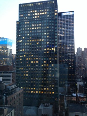 Hilton Garden Inn New York/Central Park South-Midtown West: View