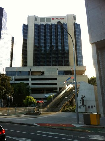 Hotel Jen Brisbane By Shangri-La: Great location -  even the Law Courts are nearby