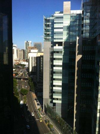 Hotel Jen Brisbane By Shangri-La: View back towards the CBD  - an easy walk