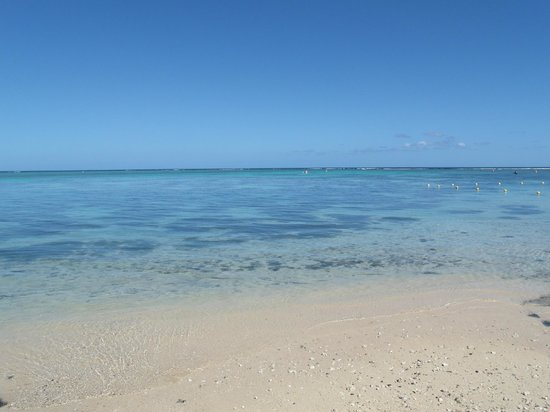 Beachcomber Le Canonnier Hotel: Der Strand