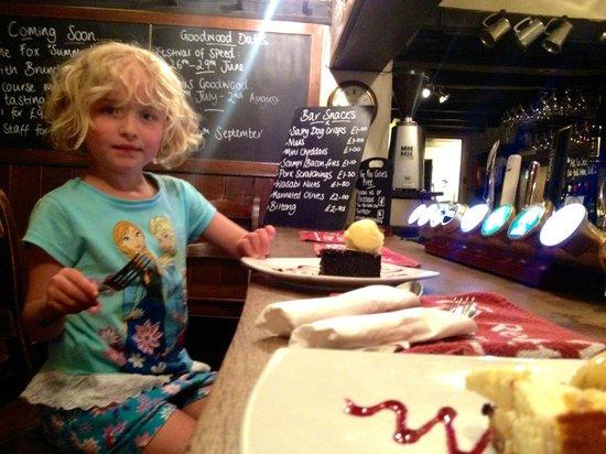 The Fox Goes Free: Dessert
