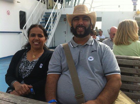 db Seabank Resort + Spa: on the ferry to Gozo