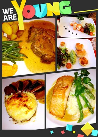 L'Ange 20 Restaurant : plats