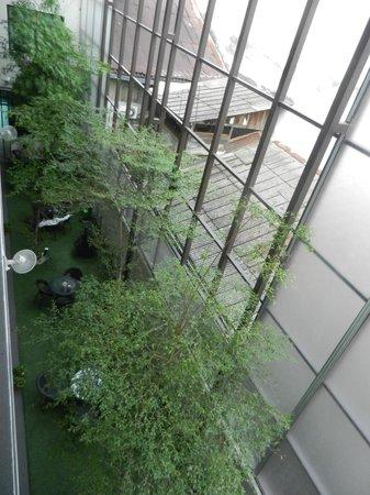 V Garden Hotel: vue sur la cour intérieure