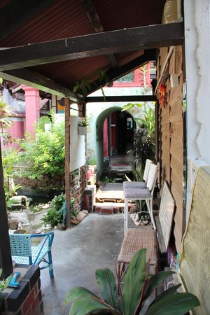 Emily Travellers' Home : Parties communes