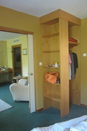 Best Western Hotel Le Schoenenbourg: rangements
