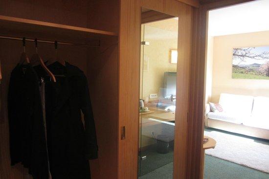 BEST WESTERN Hotel le Schoenenbourg : Rangements