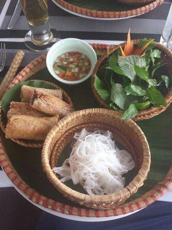 The Gourmet Corner Restaurant : Entrée of set menu for $14...