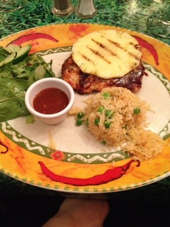 Loco Mexicano: BBQ Chicken with Pineapple