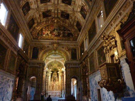 Museu do Azulejos : la chapelle