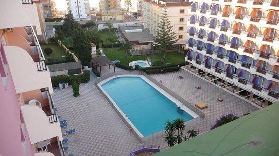 Hotel Monarque Fuengirola Park: Desde habitación 7ª planta.