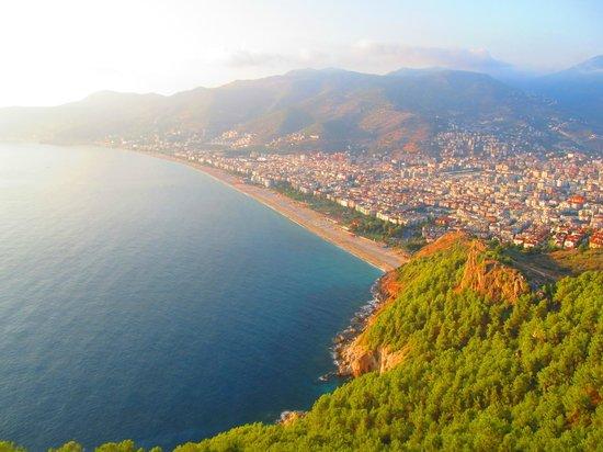 Alanya Kalesi (Castle): Шикарный вид на побережье