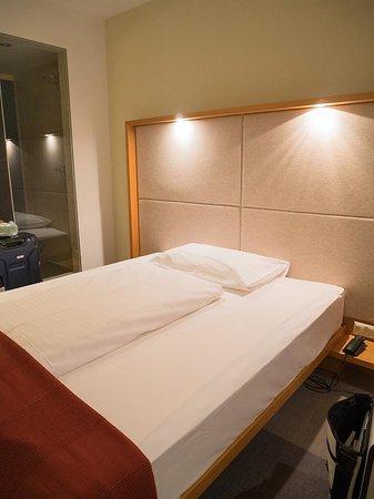 Hotel Daniel Graz: 寝心地のいいマット