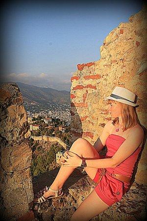 Alanya Kalesi (Castle): Любуюсь красотой...