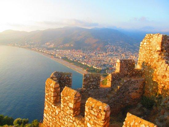 Alanya Kalesi (Castle): Вид