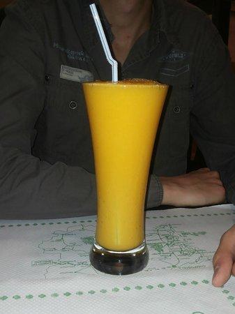 Mas Arepas: Zumo de mango