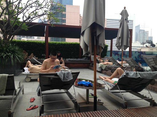 Le Meridien Bangkok: Pool