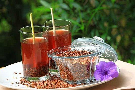 The Aura Shanti Retreat & Villa: Red Rice Tea