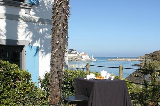 Villa Pen Prad : L'heure du thé, sous le soleil...