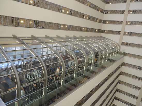New York Marriott Marquis : fitness center