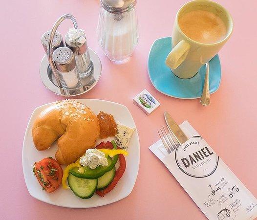 Hotel Daniel Graz: 朝食