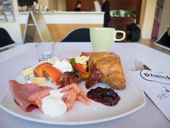 Hotel Daniel Graz : 朝食