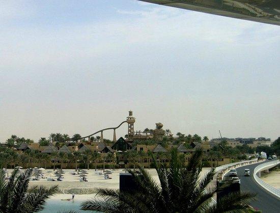 Burj Al Arab Jumeirah : Аквапарк с горкой для камикадзе
