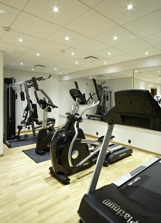 The More Hotel Lund: Gym