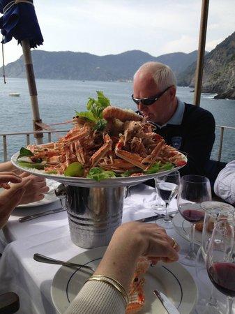 Anfiteatro Apartments - 2Italia : Great meal at Cinque Terre