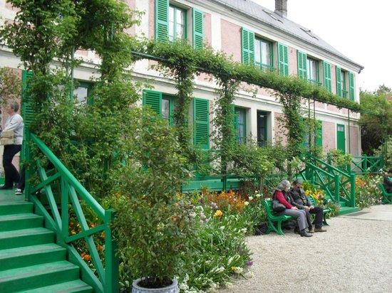 Maison et jardins de Claude Monet : maison de Claude Monet