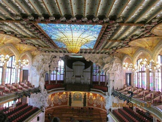 Palais de la Musique Catalane (Palau de la Musica Catalana) : salle de concert