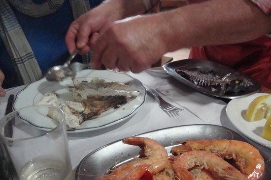 Jaquet: filleting the dorada