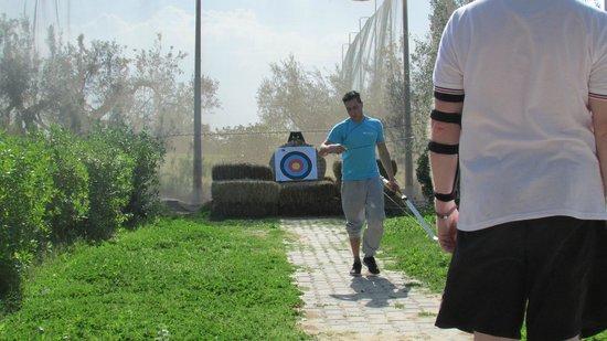 SENTIDO Phenicia: Archery activity at the hotel