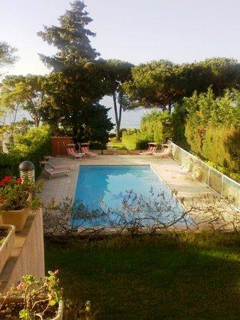Hotel La Pinede : depuis la terrasse