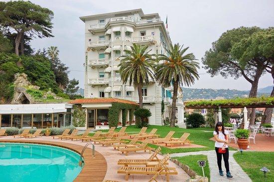 Grand Hotel Miramare: Hotelgelände