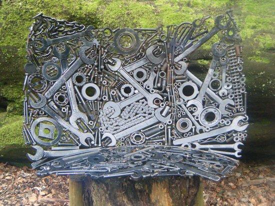Plumpton Rocks: take a breather on this tool bench