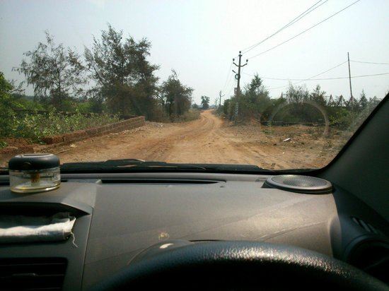 Sterling Puri: Road connecting d resort