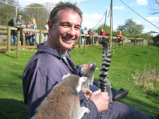 Zookeeper for a day at Whipsnade zoo: Feeding The Lemas