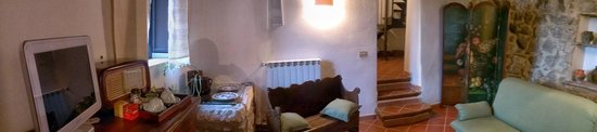Castro dei Volsci, Włochy: Casa della spoletta - parte in comune delle due stanze