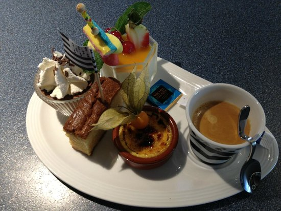 L'Avenue : café gourmand