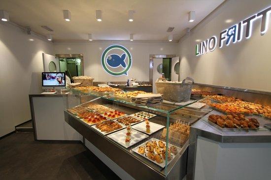 Lino Fritto : Il nuovo modo di gustare la qualità, a casa tua, in ufficio o a spasso per la città.
