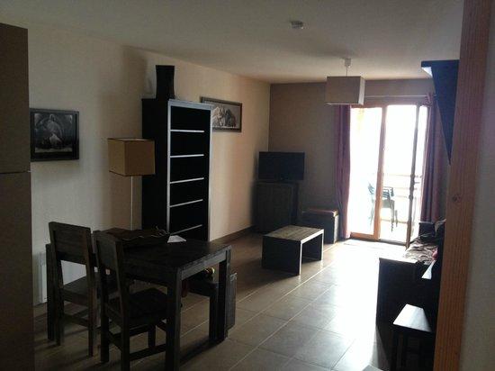 Residence Le Pic de l'Ours : Salon