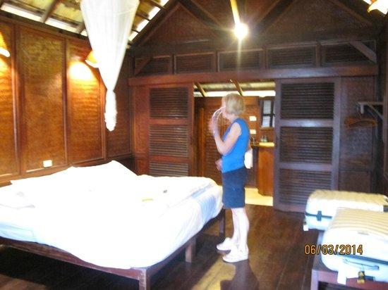 The Luang Say Lodge: Bedroom, Luang Say Lodge