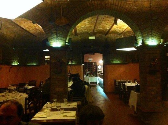 Boccione: la sala ristorante
