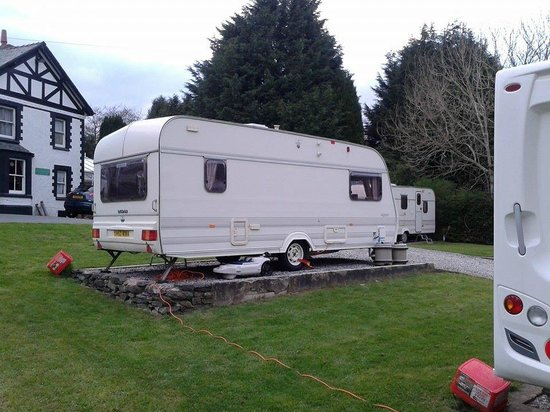 Glan Ceirw Caravan Park : Our seasonal pitch ..